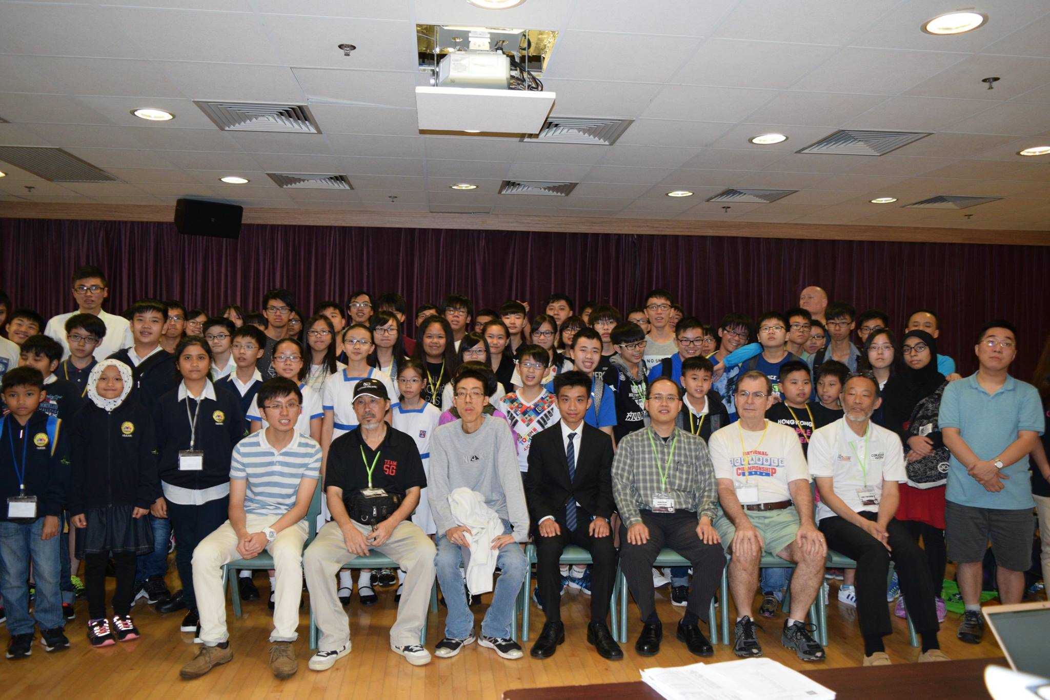Group photo of Hong Kong Scrabble Challenge 2017